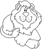 lion coloring pages 4